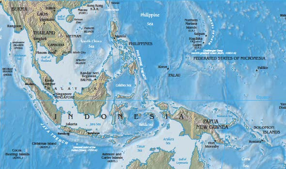 maritime continent -- Southeast Asia